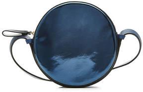 Diane von Furstenberg Metallic Leather Shoulder Bag