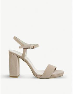 Office Hazzard slim platform-heeled sandals