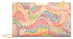 Milly Rainbow Frame Clutch
