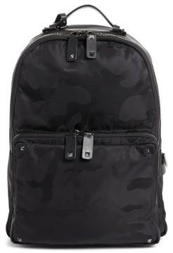 Valentino Men's Camo Backpack - Black
