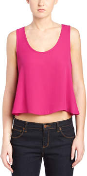 Eight Sixty Scoop Neck Crop Top