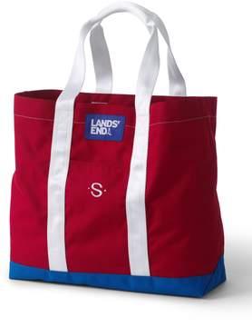 Lands' End Lands'end Seagoing Tote Bag