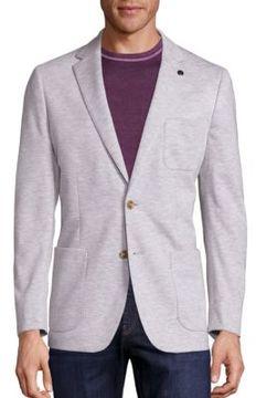 Michael Kors Bonded Knit Blazer