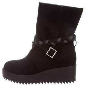 Ritch Erani NYFC Braided Platform Ankle Boots w/ Tags