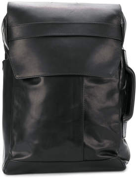 Maison Margiela structured fold-over backpack