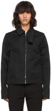 Rick Owens Black Brotherhood Jacket