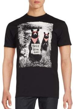 Riot Society Bear Graphic T-Shirt