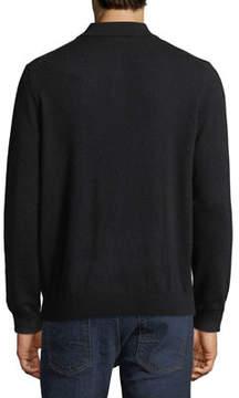 Neiman Marcus Cashmere Polo Sweater