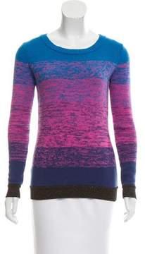 Matthew Williamson Degradé Long Sleeve Sweater