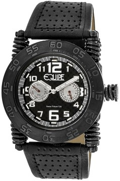 Equipe Tritium Coil Black Dial Men's Watch