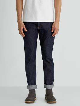 Frank and Oak The Cooper Slim-Straight Selvedge Jean in Dark Indigo