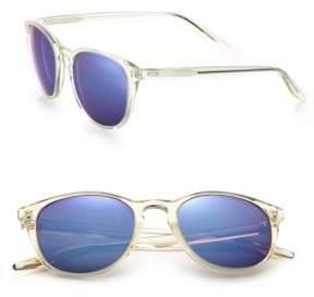 Barton Perreira Plimsoul 52MM Square Sunglasses