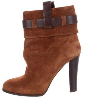 Reed Krakoff Suede Pointed-Toe Boots