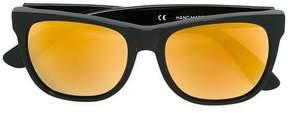 RetroSuperFuture 'Classic Black 24k' sunglasses
