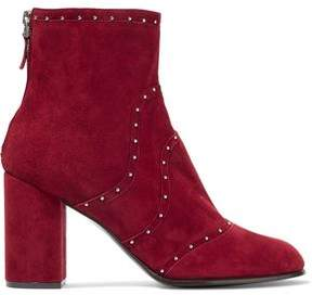 Belstaff Pointet Studded Suede Ankle Boots