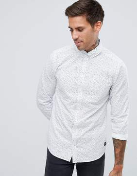 Blend of America Slim Fit Patterned Shirt