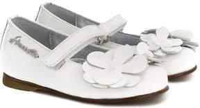 Simonetta floral embellished ballerina shoes