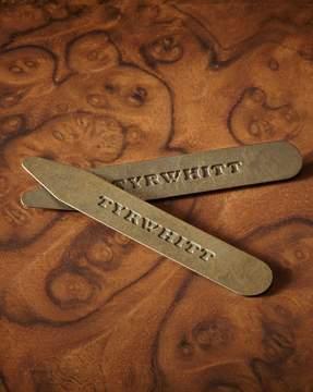 Charles Tyrwhitt 3 Pack Solid Brass Classic Collar Stays