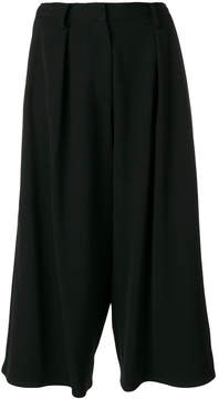 Dusan loose fit cropped trousers