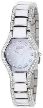 Citizen Normandie EW9870-81D Silver Analog Eco-Drive B23 Women's Watch