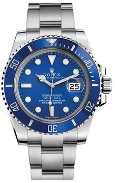 Rolex Submariner 116610 Stainless Steel & Blue Dial 40mm Mens Watch