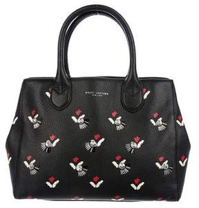 Marc Jacobs Embellished Tulip-Print Gotham Tote