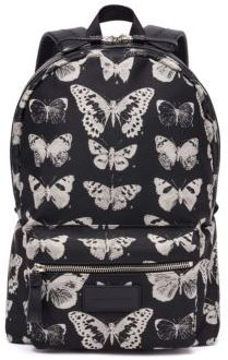 Alexander McQueen Butterfly Leather Backpack