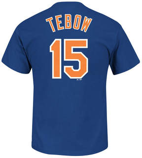 Majestic Men's Tim Tebow New York Mets Official Player T-Shirt
