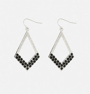Avenue Stone Diamond Drop Earrings