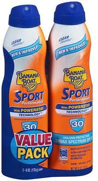 Banana Boat Sport Performance Continuous Spray Sunscreen, SPF 30