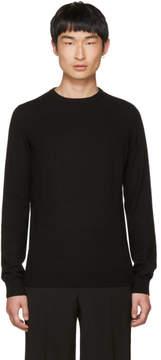 Jil Sander Black Cashmere Crewneck Sweater