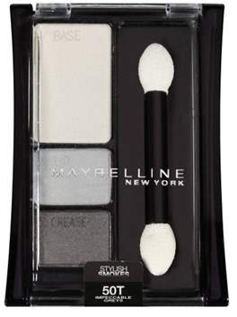 Maybelline Expert Wear Eye Shadow Trio, Impeccable Greys.
