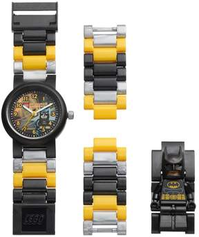 Lego Kids' DC Comics Batman Minifigure Interchangeable Watch Set