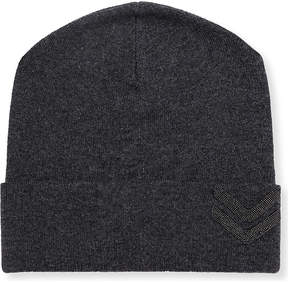 Brunello Cucinelli Military-embellished cashmere beanie