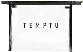Temptu Signature Clear Makeup Bag - Large