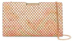 Milly Geo Cork Small Frame Clutch