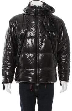 Helmut Lang Hooded Puffer Jacket