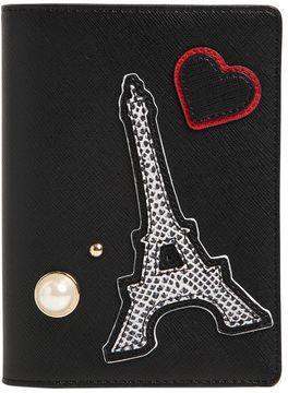 K/Paris Saffiano Passport Holder