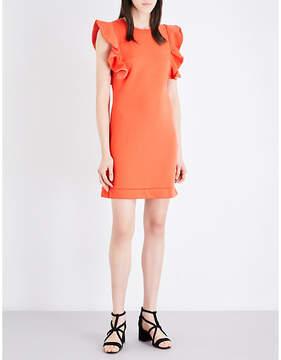 Claudie Pierlot Tigre cotton-blend dress