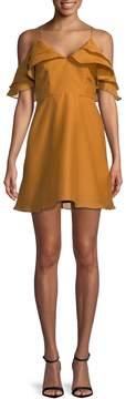 Keepsake Women's Ruffled Mini Dress