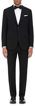 Caruso Men's Wool Faille One-Button Tuxedo