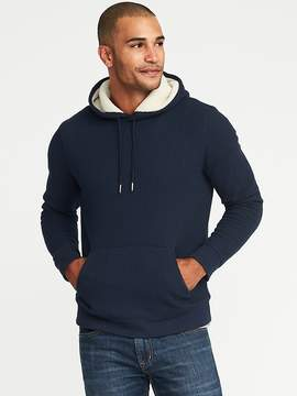 Old Navy Thick Waffle-Knit Sherpa-Lined Hoodie for Men