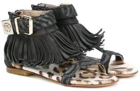 Roberto Cavalli fringed sandals