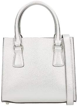 L'Autre Chose Mini Bag Merinos Silver Leather