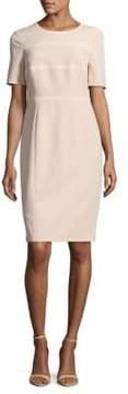Basler Short-Sleeve Zippered Dress