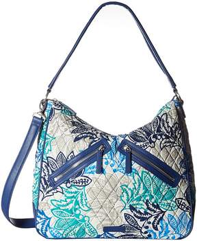 Vera Bradley Vivian Hobo Bag Hobo Handbags - SANTIAGO - STYLE