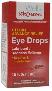 Walgreens Advanced Relief Eye Drops