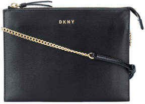 DKNY flat top-zip crossbody bag
