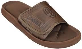 NCAA Adult Oklahoma Sooners Memory Foam Slide Sandals
