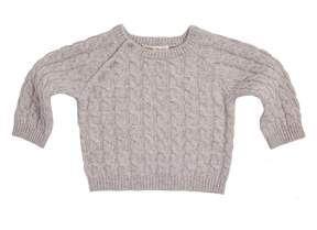 Marie Chantal Baby Boy Baby Cashmere Cable Sweater
